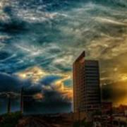 Wicked Sky  Art Print