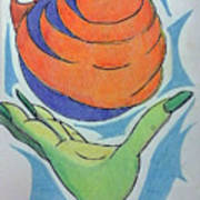 Wicket Fireball Art Print
