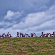 Wide Brown Land - Canberra - Australia Art Print