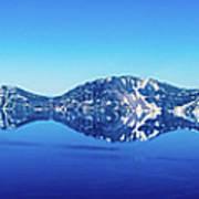 Wide Crater Lake Art Print