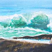 Widescreen Wave Art Print