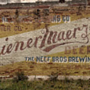Wiener Maerzen Beer Sign Victor Co Img_8703 Art Print