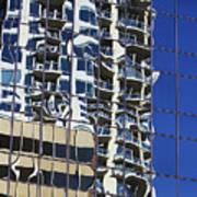 Wiggly Balconies Art Print