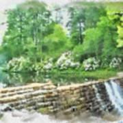 Wigwam Falls Art Print