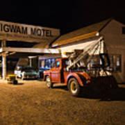 Wigwam Motel #3 Art Print