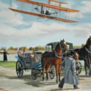 Wilbur Wright In France Art Print