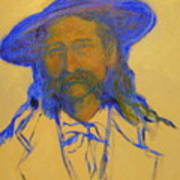 Wild Bill Hickok Art Print by Johanna Elik