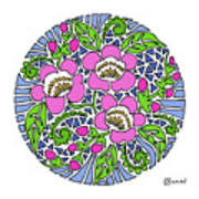 Wild Cherry Blossoms Art Print