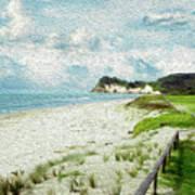 Wild Coastline Art Print