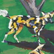 Wild Dogs Art Print