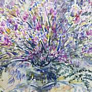 Wild Flowers #4 Art Print