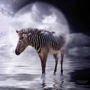 Wild In The Moonlight Art Print