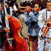 Wild Jazz Art Print