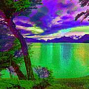 Wild Lake Art Print