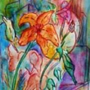 Wild Lily Art Print