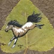 Wild Mustang #3 Art Print