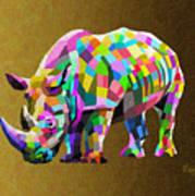 Wild Rainbow Art Print
