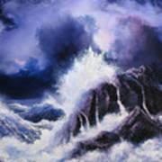 Wild Sea Art Print