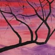 Wild Sky And Tree Art Print
