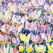Wild Tulips Art Print
