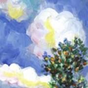 Wild Vineyard Quadriptych Part One Art Print