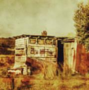 Wild West Australian Barn Art Print