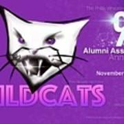 Wildcat 90 Logo Semi Comp4 Art Print