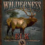 Wilderness Elk Art Print by JQ Licensing