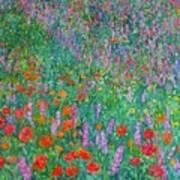Wildflower Current Art Print