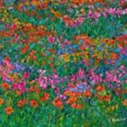 Wildflower Magic Art Print