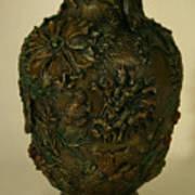 Wildflower Vase Detail Art Print