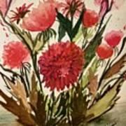 Wildly Red Art Print