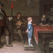 William Frederick Yeames - And When Did You Last See Your Father 1878 Art Print