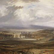 William Turner ,the Burning Art Print