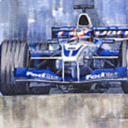 Williams Bmw Fw24 2002 Juan Pablo Montoya Art Print