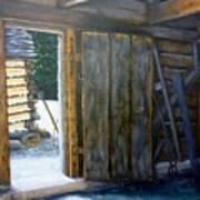 Williamsburg Barn Art Print