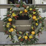 Williamsburg Wreath 18 Art Print