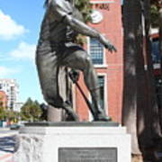Willie Mays At San Francisco Giants Att Park . 7d7636 Art Print by Wingsdomain Art and Photography
