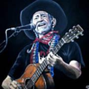Willie Nelson 2 Art Print