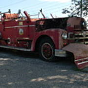 Willig Collection 6 Fire Truck Art Print