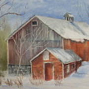 Williston Barn Art Print