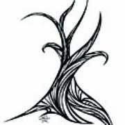 Willow Curve Art Print