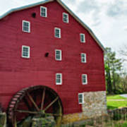 Willow Grove Mill Spring Day Art Print