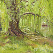 Willow Swing Art Print