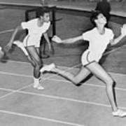 Wilma Rudolph 1940-1994 At The Finish Art Print by Everett