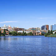 Wilmington Skyline Art Print