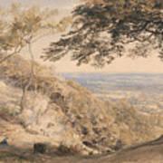 Wilmot's Hill, Kent Art Print