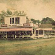 Wilson's Restaurant And Ice Cream Parlor Art Print