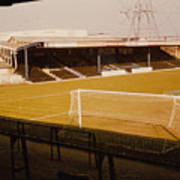 Wimbledon Fc - Plough Lane - Main Stand 1 - 1969 Art Print