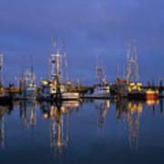 Winchester Bay Reflections Art Print